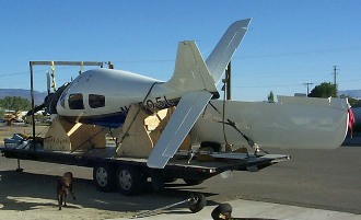 Columbia 300 - Wing & Fuselage Repair by Mansberger Aircraft