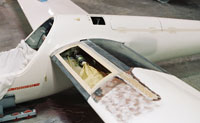 Sailplane repair on composite wing by Mansberger Aircraft